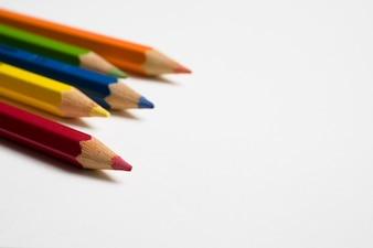 Bunter Bleistift