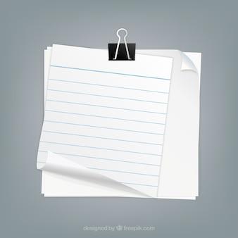 Büroklammer Halte Seiten toguether
