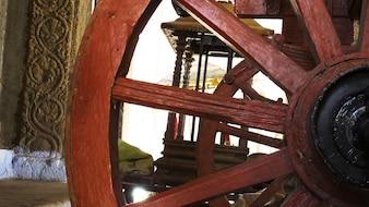 Chakra des alten Tempelwagens