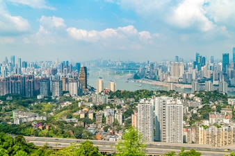 Chongqing Stadt und Skyline