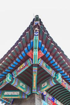 Dekoration historischen alten Ornament Detail Glas