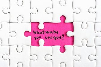 Denken Sie Unterschied Business-Konzept
