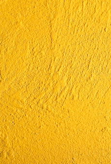 Detail leerer Zement gelbe Struktur