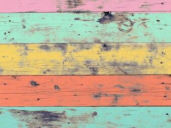 Die bunte Grafik gemalt auf Holz Material für Vintage Wallpaper Hintergrund.