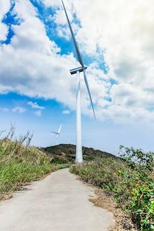 Elektrische Windmühle