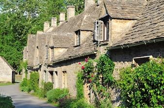 Englisch Dorf in Cotswolds
