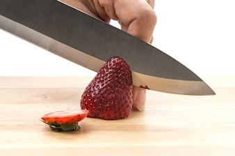 Erdbeer-Scheibe