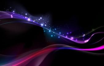 erstaunlich abstrakte leuchtende vektor Hintergrund