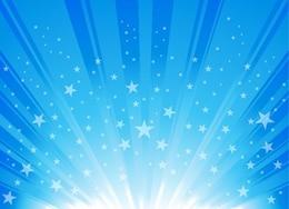 explodierenden Stern sprengte Hintergrund Vektor-Grafik