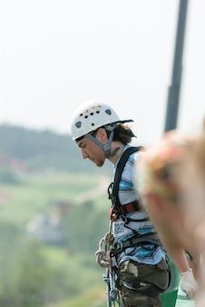 Extremsport-Seiljumping
