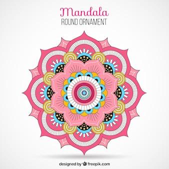 Farbige Mandala