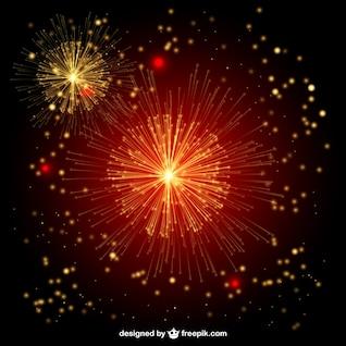Feuerwerk Vektor Freier Illustration