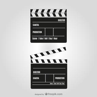 Film Klipper Vektor