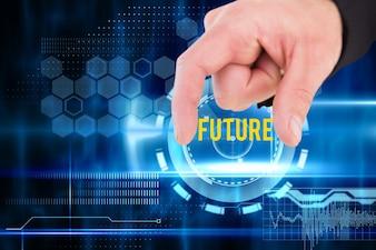 """Fingers Öffnen der """"Zukunft"""""""