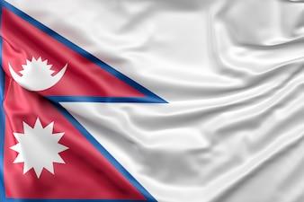 Flagge von Nepal