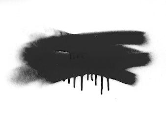 Formelement bespritzt Textur Schlaganfall