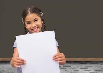 Fröhlich Händeschütteln elementare Vereinbarung Lernen