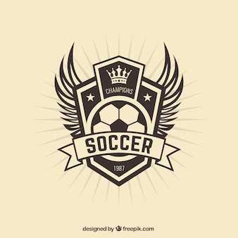 Fußballmannschaft badge