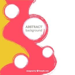 Gemalten Hintergrund in der abstrakten Art