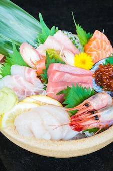 Gemischte Sashimi