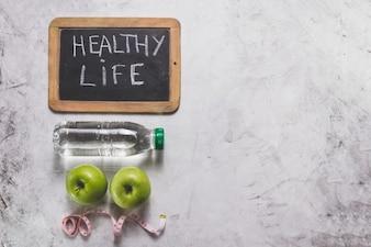 Gesundheit White Box Tomate Apfel