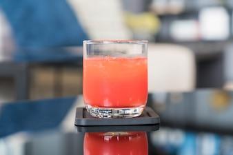 Glas Punsch Saft