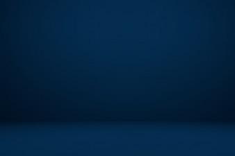 Glatte Dunkelblau mit schwarzer Vignette Studio gut Gebrauch als Hintergrund, Geschäftsbericht, digital, Website-Vorlage.