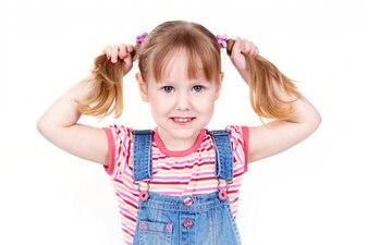 Glück Kind adorable Mädchen Kleidung