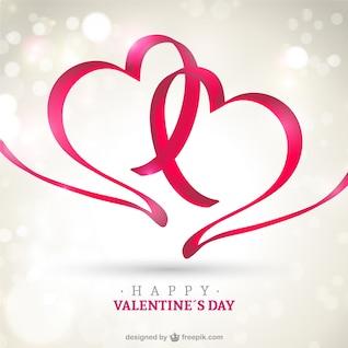 Glückliche Valentinstag-Karte