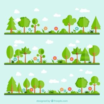 Grünen Garten