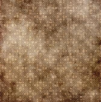 Grunge Tapeten Design mit Damast Textur