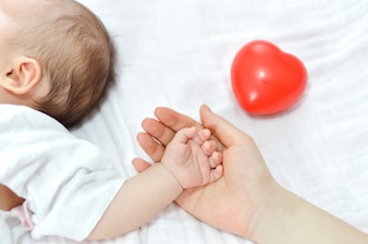 Händchen halten