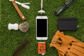 Handy und andere Gegenstände für den Vatertag