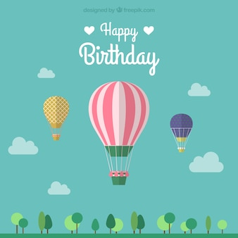 Happy Birthday Ballon vector