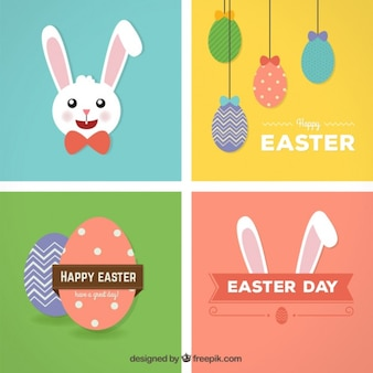 Glückliche Ostern-Karten