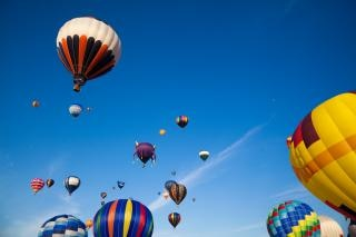 Heißluftballons Saint Jean