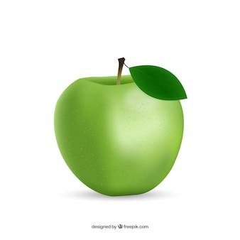 Helathy grünem Apfel
