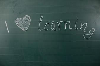 Ich liebe es, Worte zu lernen