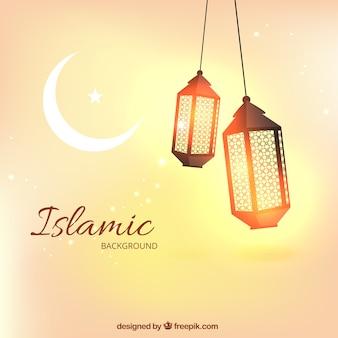 Islamischen Hintergrund