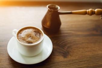 Java Frühstück Gastfreundschaft Vintage Bohnen