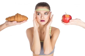 Junk-Mode zu Hause denken Obst