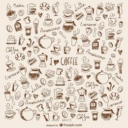 Kaffee Kritzeleien