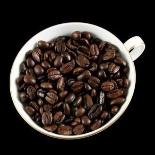 Kaffee rösten weiß