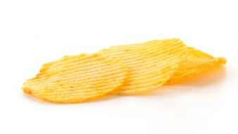 Kalorien Kräuselung Chip Bratkartoffel