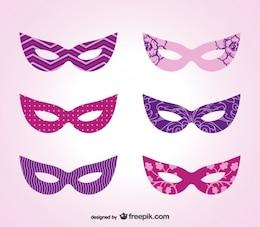 Karneval Maske Vektor-Kunst