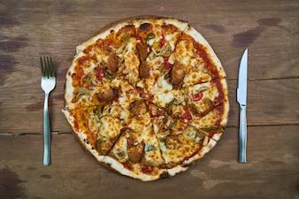 Käse Fleisch köstlich herbe horizontale