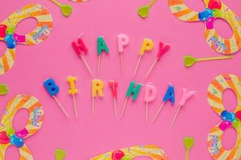 Kerzen zum Geburtstag