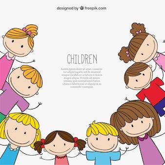 Kinder Hintergrund