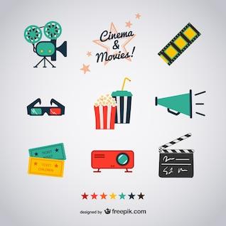 Kino und Film-Ikonen