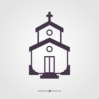 Kirche Silhouette Vektor